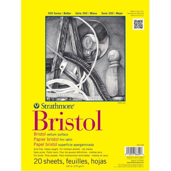 Bristol Paper Pads Series 300, Regular