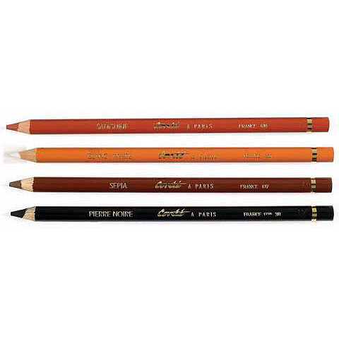 Conte Colored Drawing Pencils