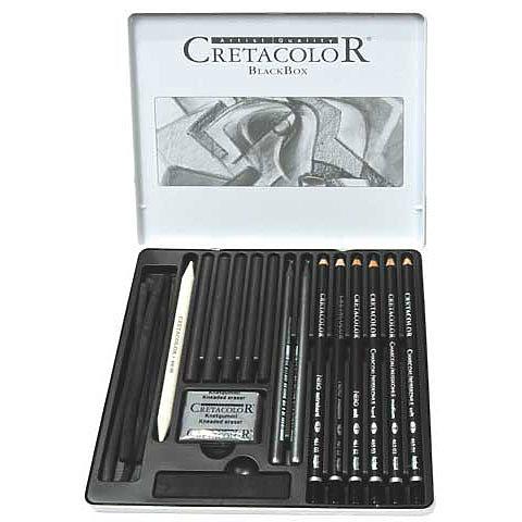 Black Box Drawing Set, 20 Pieces