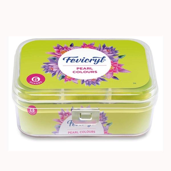 Fevicryl Acrylic Colours Pearl Kit
